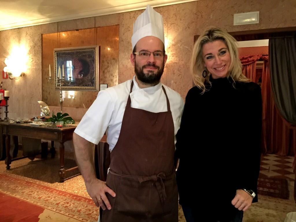 Lo Chef del MET Restaurant Luca Veritti