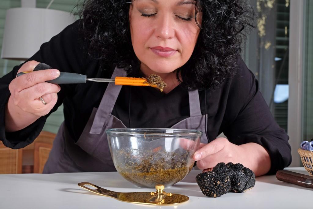 ricetta gnocchi di polenta e tartufo